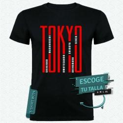 Camiseta de Distritos de Tokyo