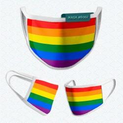 Mascarilla: Bandera LGBT