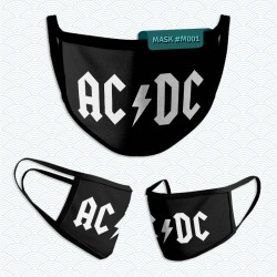 Mascarilla: AC DC