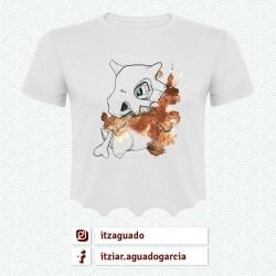 Camiseta Cubone: Pokemon 1ª Generación (@ItzAguado)
