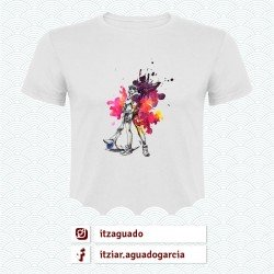 Camiseta: Akali (League of Leagends - @ItzAguado)
