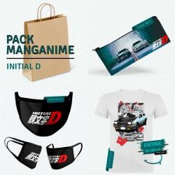 Pack: Initial D (estuche, mascarilla y camiseta)