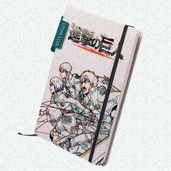 Libreta: Shingeki no kyojin (Modelo 01)