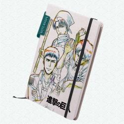 Libreta: Shingeki no kyojin (Modelo 04)