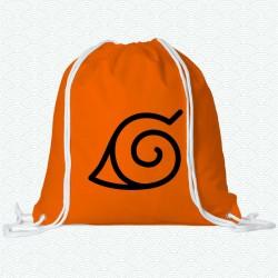 Mochila de la Aldea Oculta de la hoja de la serie Naruto