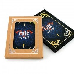 Exterior de la libreta Fate Stay Night