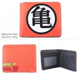 Cartera Dragon Ball con el kanji Kame (Tortuga)