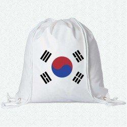 Mochila de la bandera de Corea