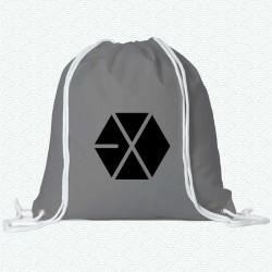 Mochila con el logotipo del grupo k-pop Exo