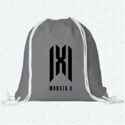 Mochila con el logotipo usado desde 2019 del grupo k-pop Monsta X