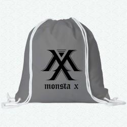 Mochila del primer logotipo del grupo K-pop Monsta X