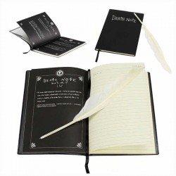 Detalle de varias partes del interior de la Death Note