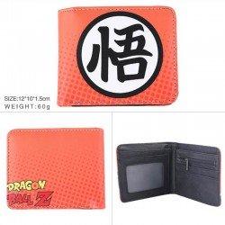 Cartera Dragon Ball con el kanji Go