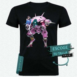 Camiseta de Dva (Overwatch)
