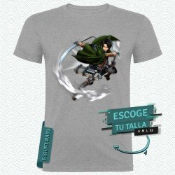 Camiseta de Levi (Ataque a los Titanes)