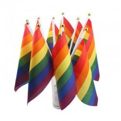 Grupo de banderas decorativas LGBT