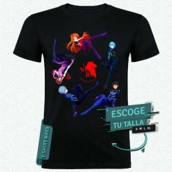 Camiseta de Pilotos (Neon Genesis Evangelion)