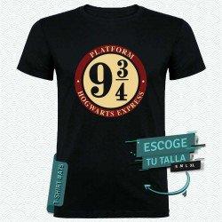 Camiseta de Estación 9 3/4 (Harry Potter)