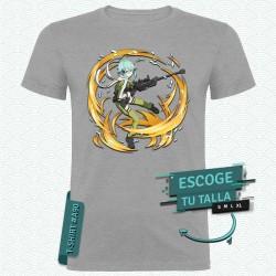 Camiseta: Sinon Asada (SAO) Modelo 02