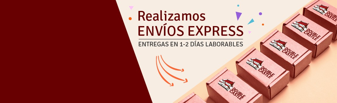 Realizamos envíos express (entregas en 1-2 días laborables)
